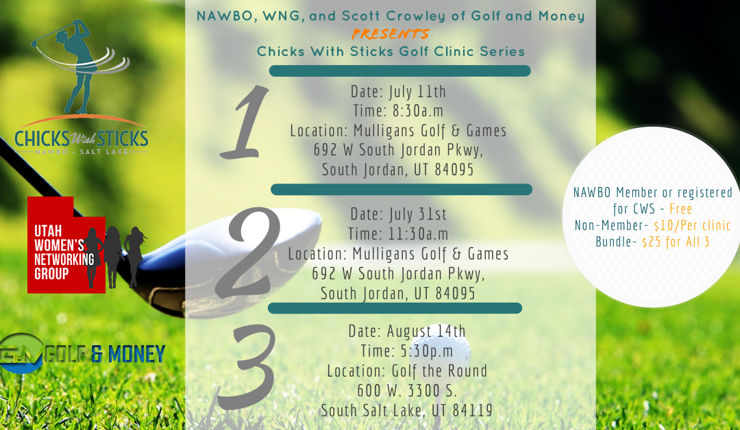 Golf Clinics NAWBO Partner Event Overview