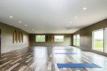 1800 Sq Ft Yoga room